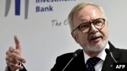 European Investment Bank President Werner Hoyer
