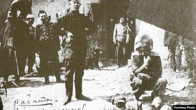 """""""Приведение в исполнение приговора хунхузам, 1912 год"""""""