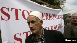 "Sa protesta ""Stop terorizmu"", Priština, 2012."