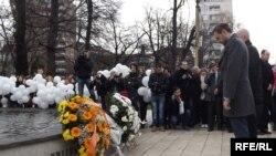 Cvijeće za oslobodioce i branioce Sarajeva