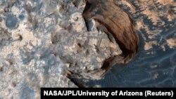 Mars planetinin NASA tərəfindən çəkilmiş şəkli