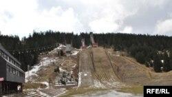 Igman (1504m), nekadašnja olimpijska skakaonica, Sarajevo, 07. februar 2009.