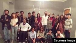 ƏSA teatrının kollektivi.