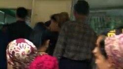 Berdimuhamedow Türkmenbaşa baranynda dükanlarda we bankomatlarda nobatlar gadagan edildi