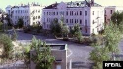 Город Курчатов в Восточно-Казахстанской области.