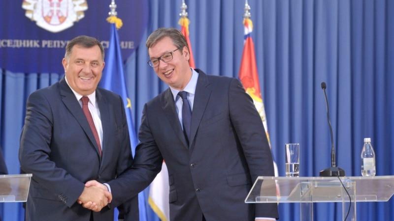 Dodik i Vučić na istom zadatku?
