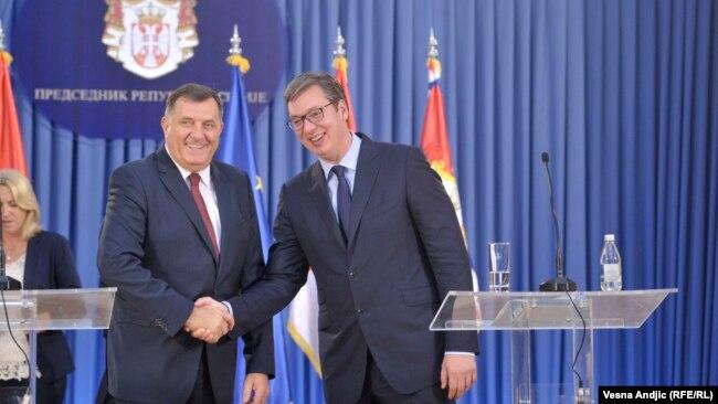 Vučiću za njegov nacionalni imidž Dodik manje potreban nego što je to bio Borisu Tadiću: Weber