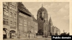 Синагога в Кёнигсберге, историческое фото