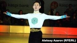 Денис Тен, казахстанский фигурист. Алматы, 30 мая 2014 года.
