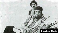 منوچهر فرید و عنایتالله بخشی در نمایی از فیلم میراث