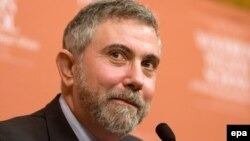 "Princeton University professor and ""New York Times"" syndicated columnist Paul Krugman (file photo)"