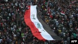 Акція протесту проти корупції в Багдаді, архівне фото
