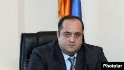 Министр юстиции Армении Ованнес Манукян
