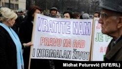 Protesti u Sarajevu 27. februara, ilustrativna fotografija