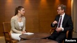 Ґідо Вестервелле зустрічався з Євгенією Тимошенко під час приїзду до Києва 21 червня цього року