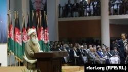 عبدرب رسول سیاف رئیس لویه جرگه مشورتی صلح