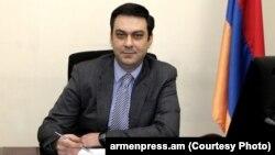 Первый заместитель министра транспорта и связи Армении Артур Аракелян