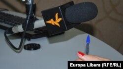 Азатлык радиосы микрофоны