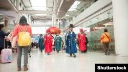 В аэропорту города Инчхона. 4 марта 2015 года.
