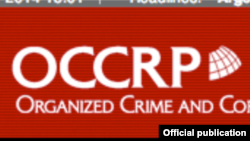 US, OCCRP (Organized Crime and Corruption Reporting Project) logo