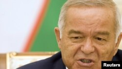 "Uzbek President Islam Karimov says that the changes he is making are the ""usual practice in democratic states."""