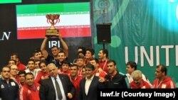 تیم ایران به مقام سوم مسابقات جام جهانی کشتی فرنگی رسید