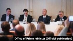 Pamje nga konferenca e sotme në Prishtinë.