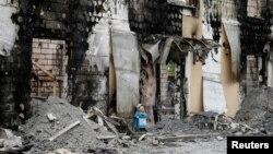 Пожежа у приватному закладі для літніх людей у селі Літочки на Київщині