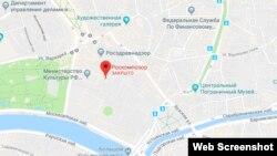 Московский офис Роскомнадзор на Google Maps