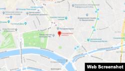 Идораи Роскомнадзор дар Google Maps