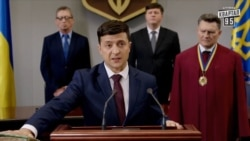 This Time It's Real: Ukrainian Comic To Take Presidential Oath
