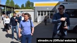 Участники рейда в Симферополе, 27 мая 2017 года