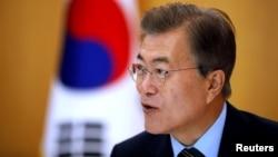 Президент Республики Корея Мун Чжэ Ин.