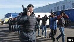 Антимигрантские рейды в Москве