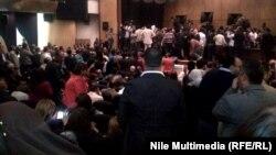 القاهرة: اعتصام الصحفيين