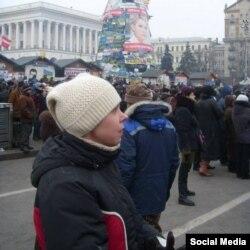 Свілтана Шиян на Майдані