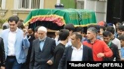 Эмомалиджони Хуршед похоронен в Кулябе