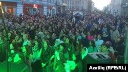 Акція «Я говорю татарською» у Казані, 26 квітня 2017 року