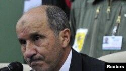 Лидерот на либиските бунтовници Мустафа Абдел Џалил