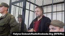 Руслан Коцаба під час судового засідання