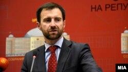 Пратеникот на ВМРО-ДПМНЕ, Илија Димовски.