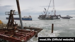 Будівництво Керченського мосту