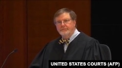US District Judge James Robart, a file video grab.
