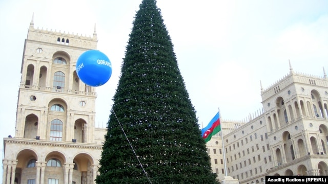 "Some Azerbaijanis argue that Muslims should not celebrate the New Year, as it is ""a Christian festival"" that ""has  nothing to do with Muslims."""