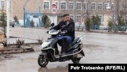 Центральная улица в селе Сортобе, Жамбылская область. 27 февраля 2020 года.