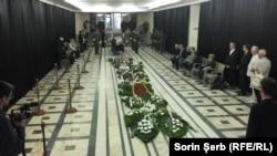 Funeraliile Doinei Cornea, Colegiul Academic, Cluj, 7 mai 2018
