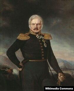 General Yermolovun portreti, 1843. Rəssam P.Zaxarov