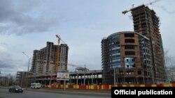 Чаллыдагы Sunrise City торак комплексы, 2015 елның апреле
