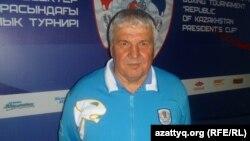 Бокстан Қазақстан құрамасының аға бапкері Нұрғали Сафиуллин, Алматы, 10 мамыр 2012 жыл