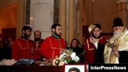 Манану Джабелия отпевали как мученицу в соборе Святой Троицы с участием католикоса-патриарха всея Грузии Илии Второго